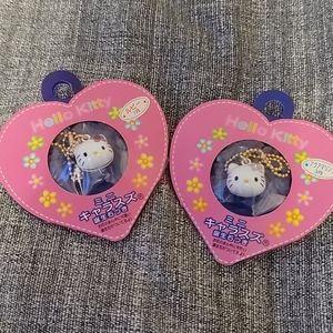 Hello Kitty Birthstone Keychains